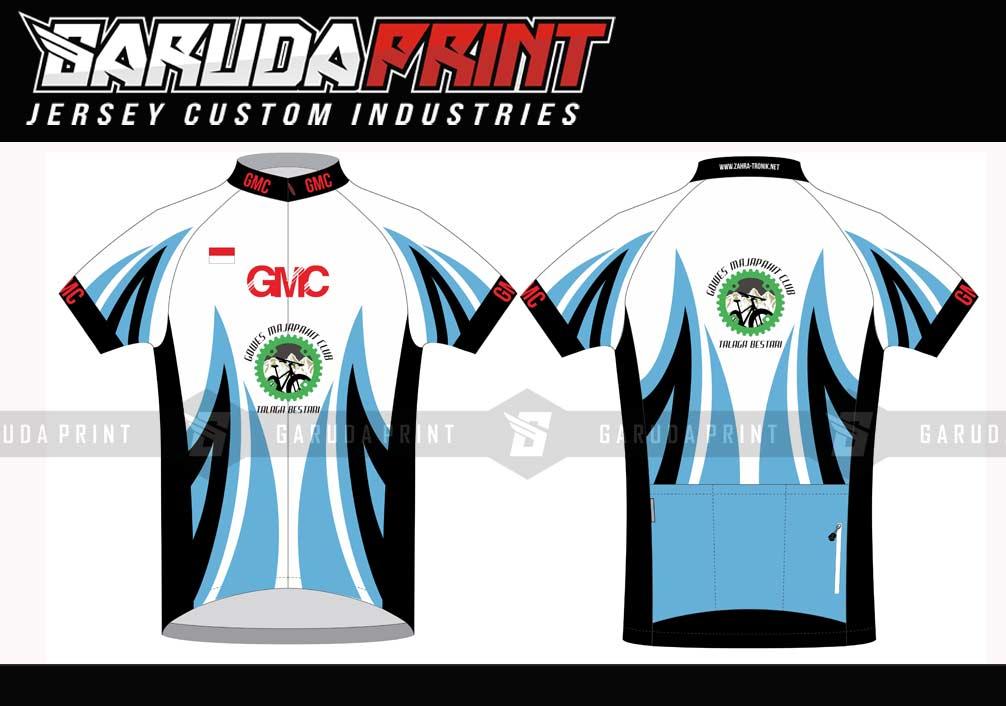 Buat Jersey Sepeda Desain Custom