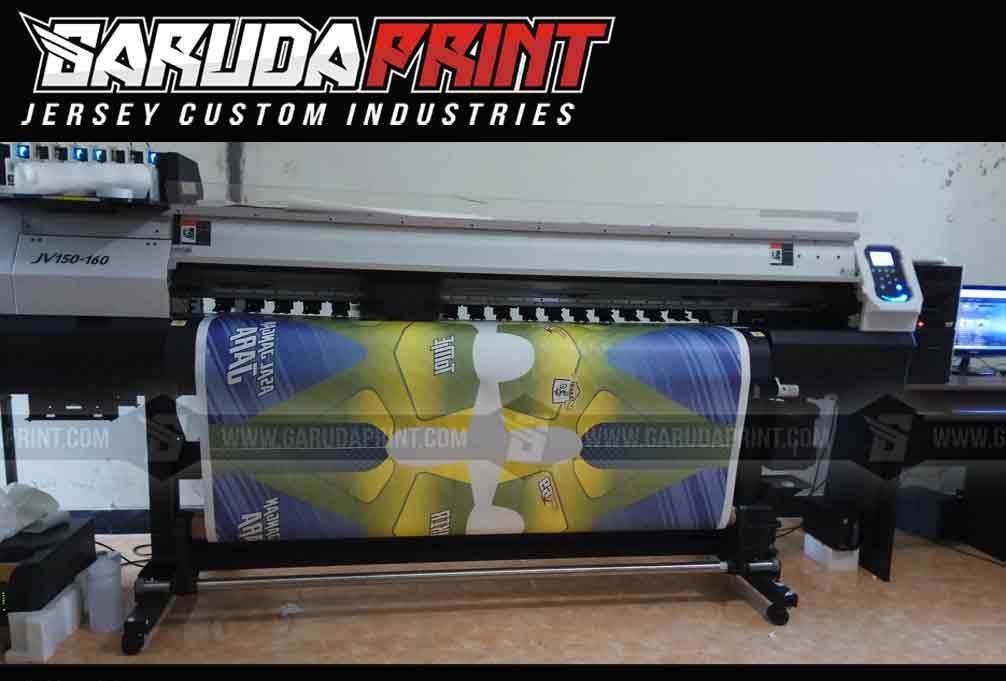 Jasa Pembuatan Jersey Sepeda Printing