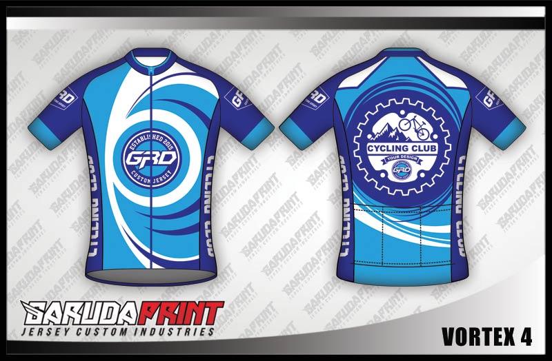 Jersey Sepeda desain Custom