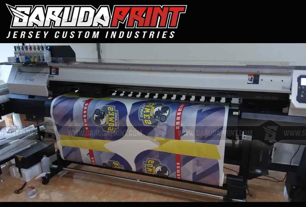 Konveksi Baju Sepeda Online printing