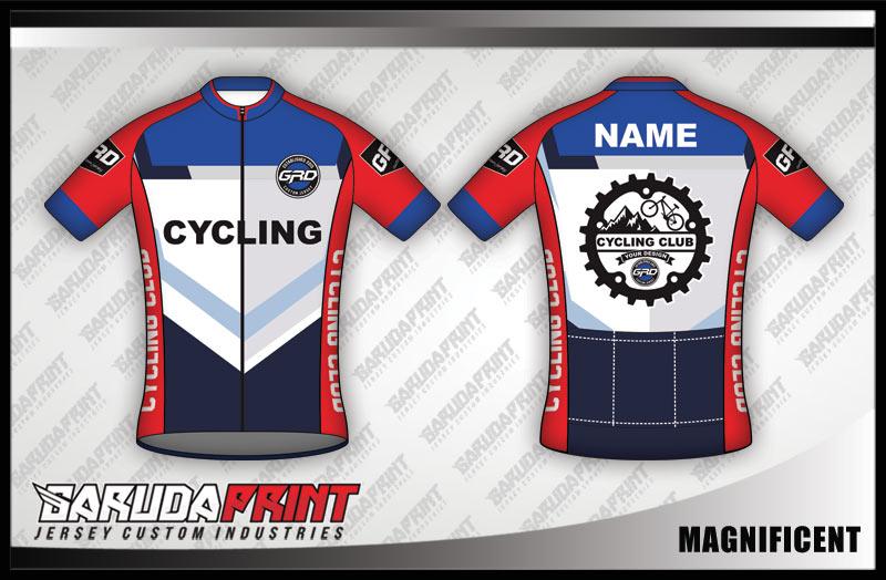 Pesan kaos jersey sepeda desain sendiri