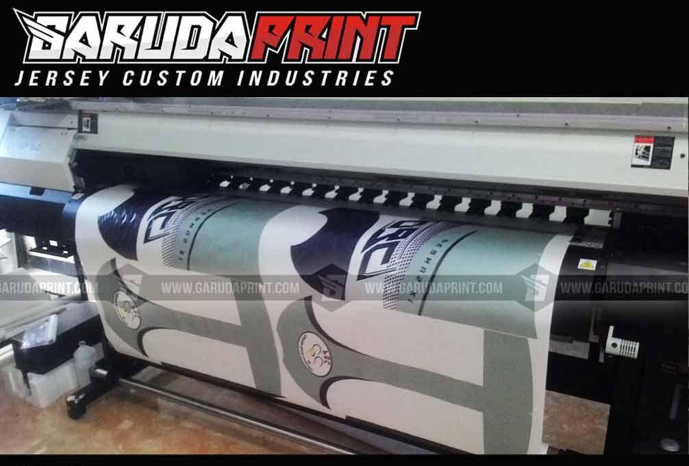 Produsen Jersey Sepeda Hijau printing