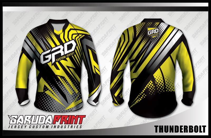 desain baju sepeda downhill keren