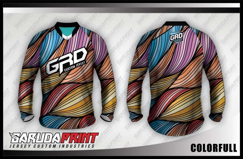 desain jersey sepeda downhill unik