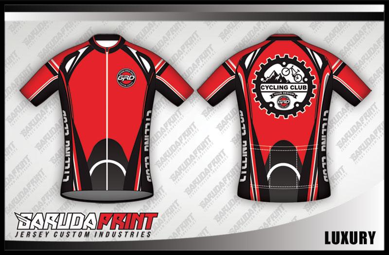 desain jersey sepeda unik