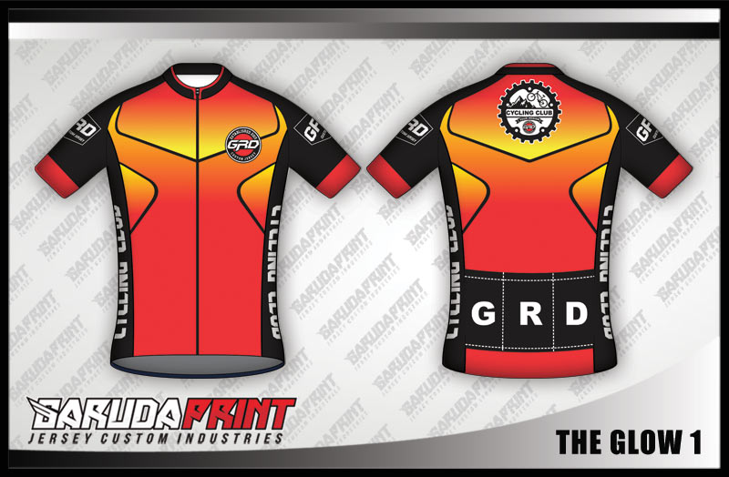 desain kaos jersey sepeda gradasi