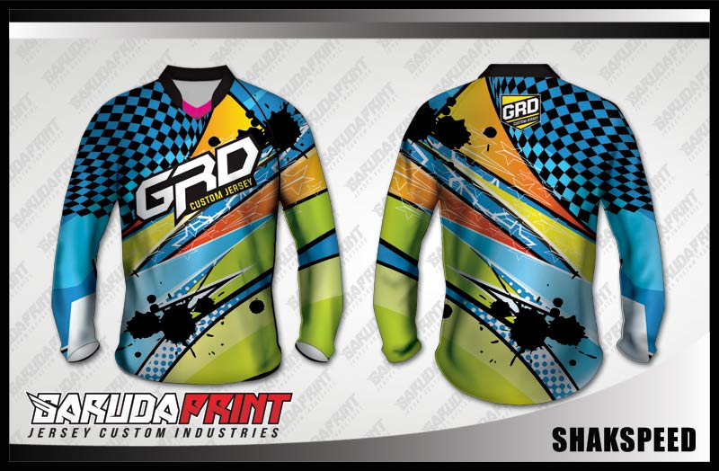 Desain Baju Sepeda MTB Shakspeed Bagi Si Kreatif