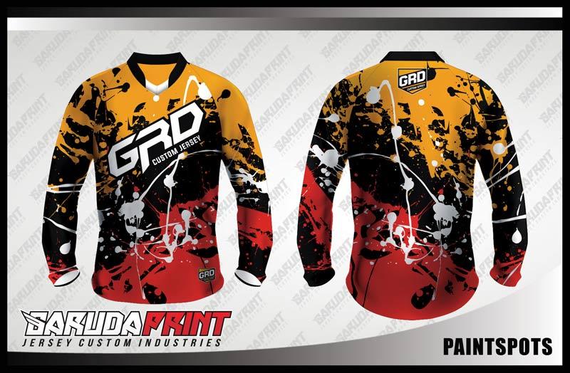 Desain Jersey Baju Sepeda MTB Paintsport yang Nyeleneh Namun Menawan