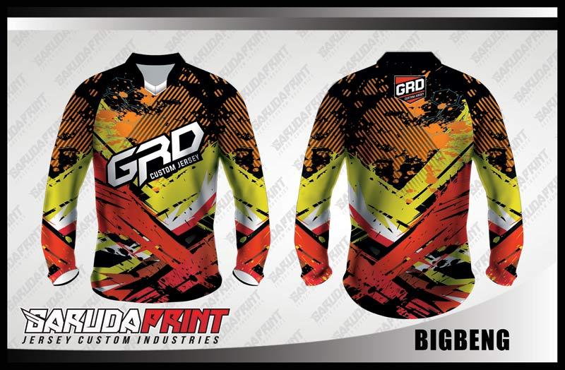 Desain Kaos Sepeda Downhill Bigbeng Paling Keren