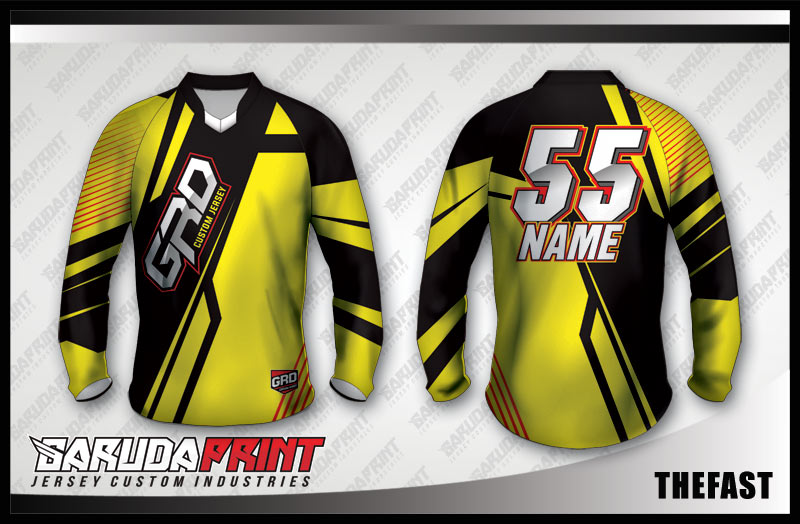 24. DESAIN JERSEY SEPEDA MTB & DOWNHILL THEFAST