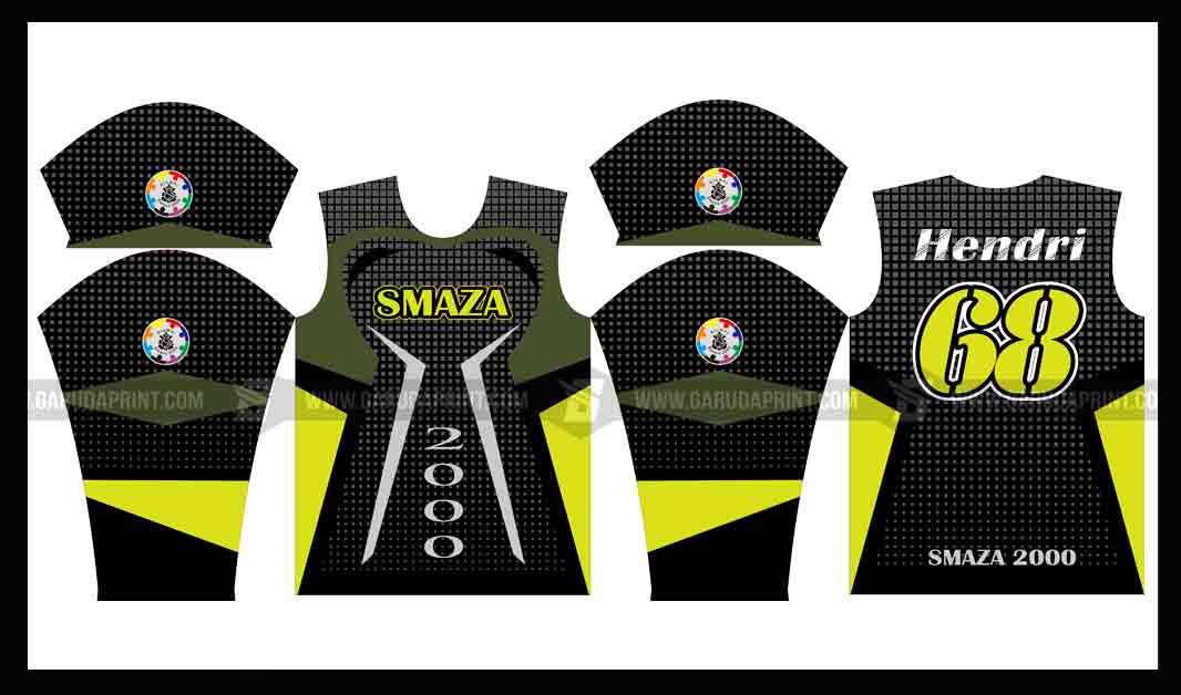 Buat Baju Sepeda Printing Desain Sendiri