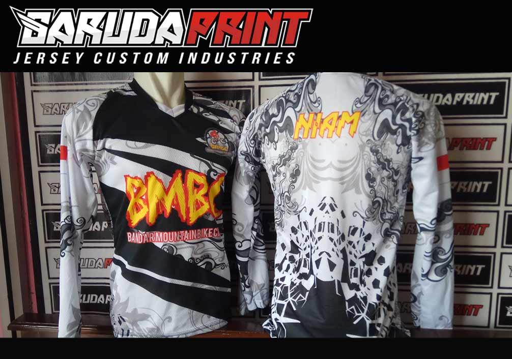 Bikin Baju Sepeda Full Printing Bebas Desain Di Kota Magelang