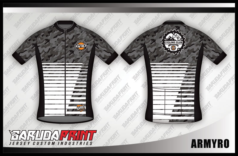 desain jersey sepeda ARMYRO