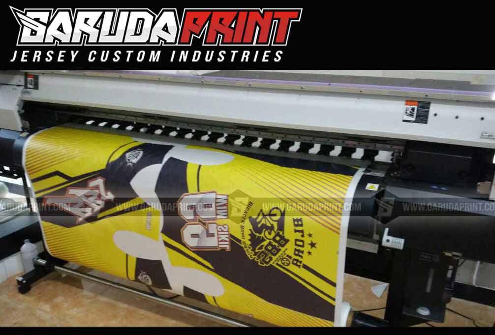 Bikin Baju Sepeda Full Print Downhill Model Terbaru