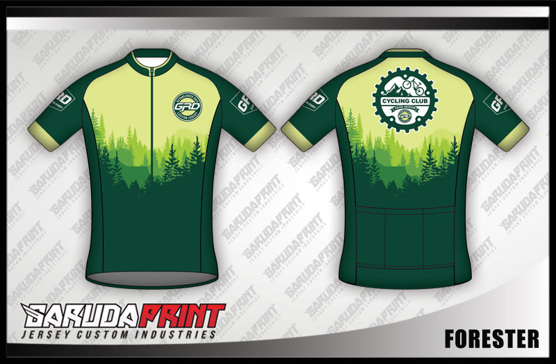 desain jersey sepeda gowes FORESTER