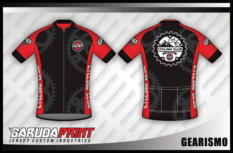 desain jersey sepeda gowes GEARISMO