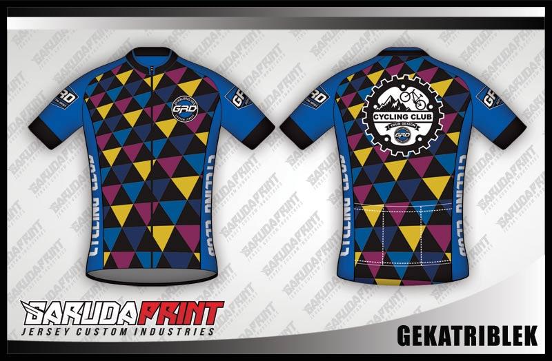desain jersey sepeda gowes GEKATRIBLEK