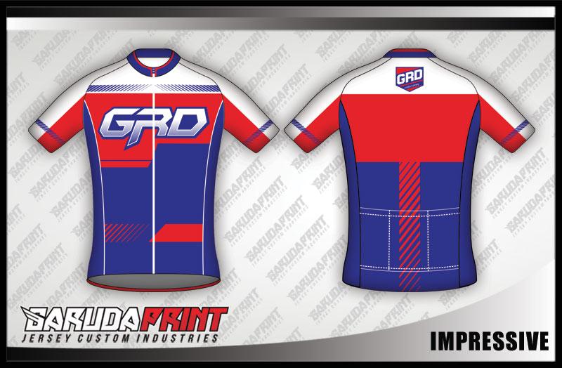 desain jersey sepeda gowes IMPRESSIVE