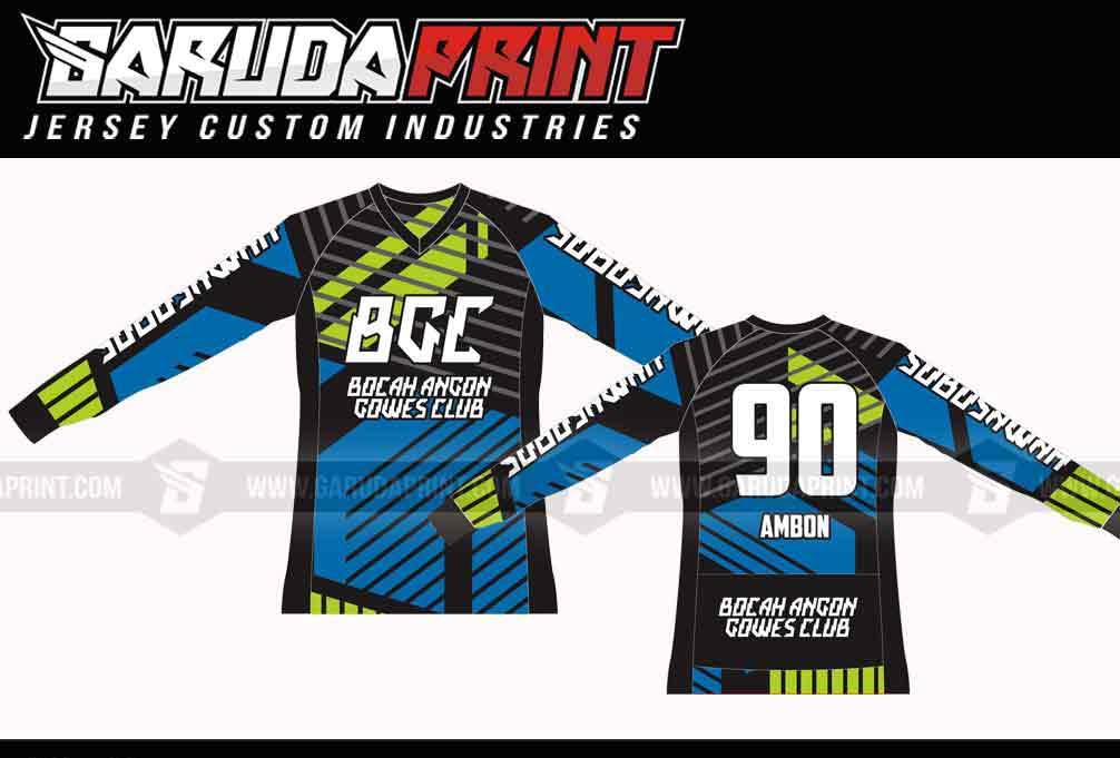 Bikin Baju Sepeda Full Print Gowes Dan Road Bike Terbaru