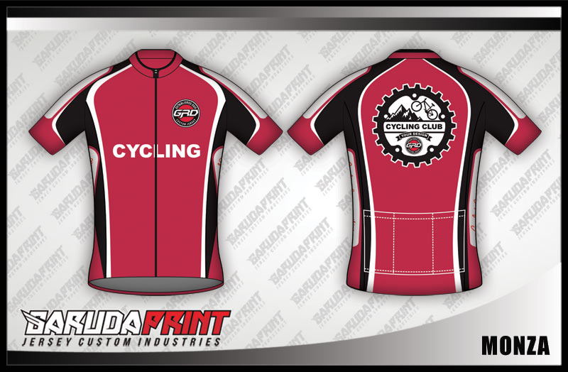 desain jersey sepeda MONZA