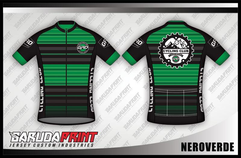 Desain Baju Sepeda Gowes Nerovede, Bikin Nervous
