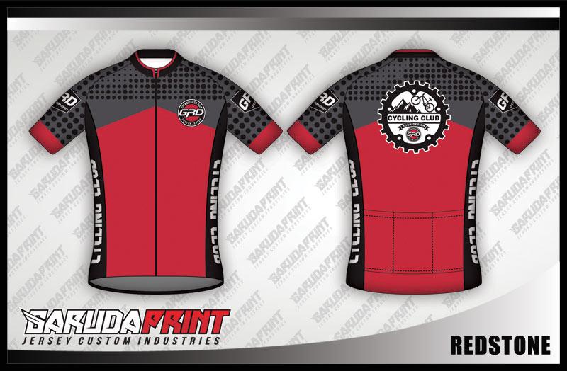 Desain Baju Sepeda Gowes Redstone Semerah Semangatmu!
