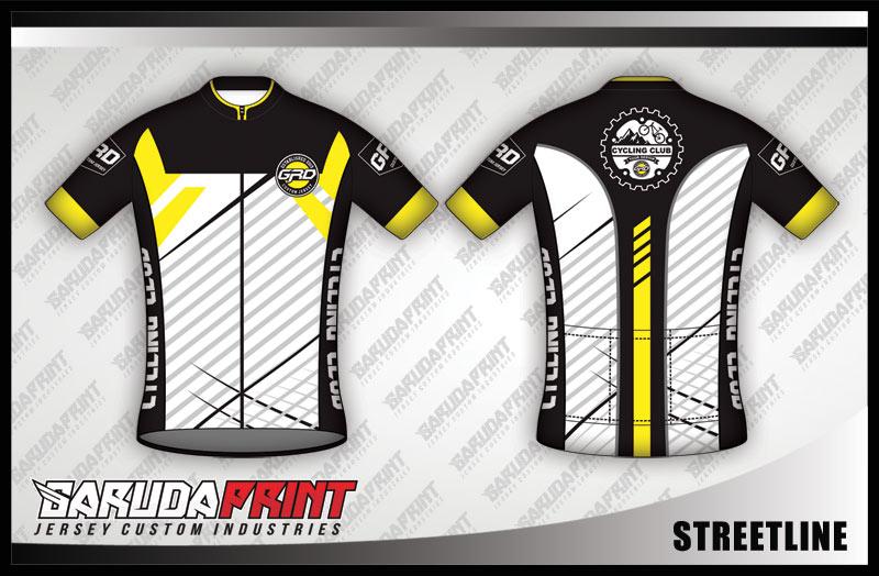 desain jersey sepeda gowes STREETLINE