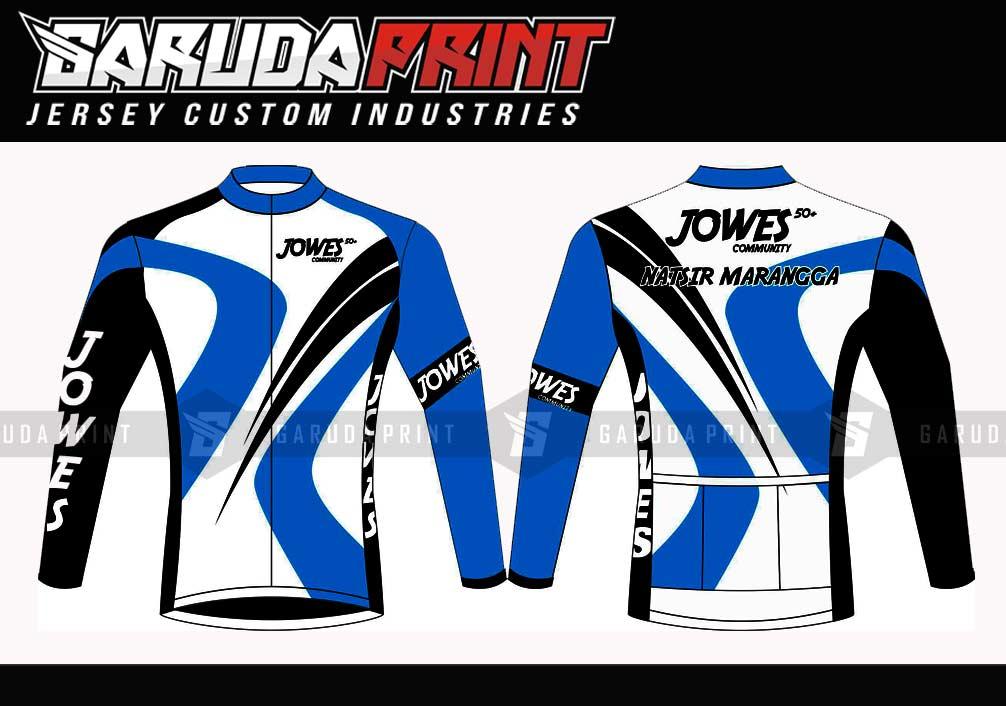 Bikin Baju Sepeda Di Kota Banjarnegara Full Printing