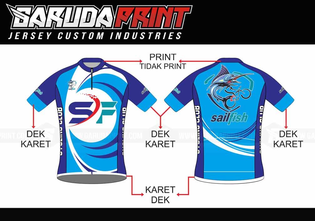 Buat Kaos Sepeda Printing Di Kota Surakarta Kualitas Terbaik
