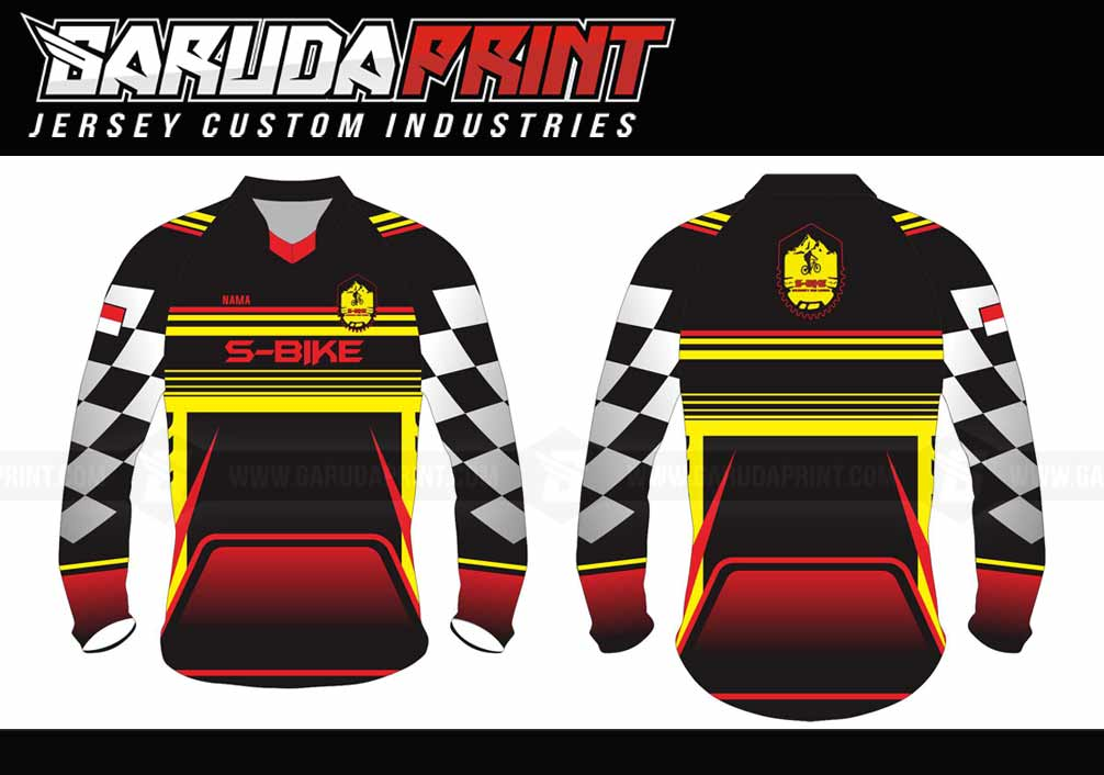 Bikin Baju Sepeda BMX Di Kota Pamekasan Melayani Custom Desain