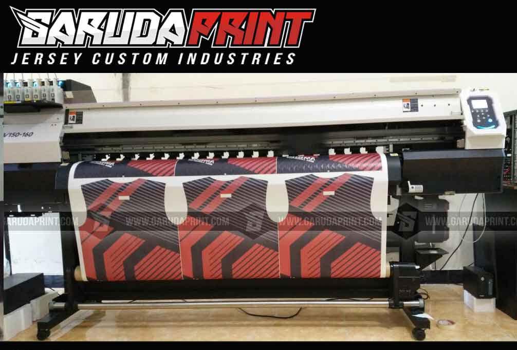 Jersey Sepeda Printing Warna Hitam Abu Simple Tapi Berkelas