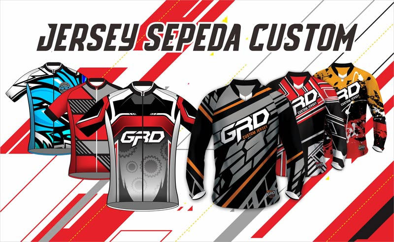 Bikin Jersey Sepeda Custom