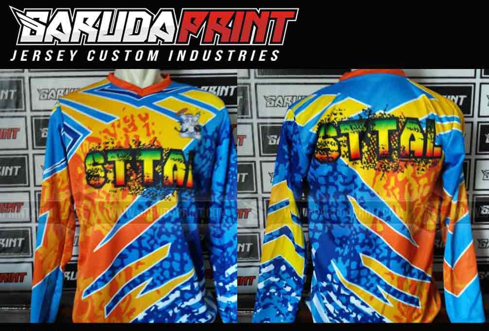 produksi bikin baju sepeda printing lengan panjang