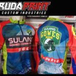 produksi bikin baju sepeda printing pakai resleting