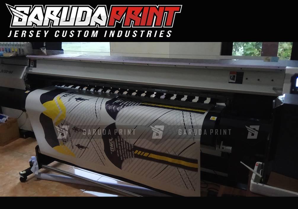 Bikin Baju Sepeda printing Keren