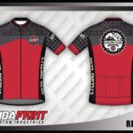 Desain Baju Sepeda dengan Resleting (Gowes)