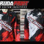 Hasil Produksi Pembuatan Jersey Sepeda Downhill desain custom