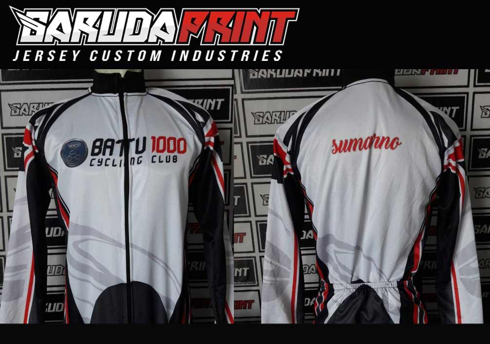 Jasa Buat Baju Sepeda custom