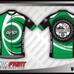 Jasa Buat desain Jersey Sepeda hijau