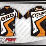 Pesan kaos jersey sepeda desain custom