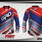 Pesan kaos jersey sepeda lengan panjang desain custom