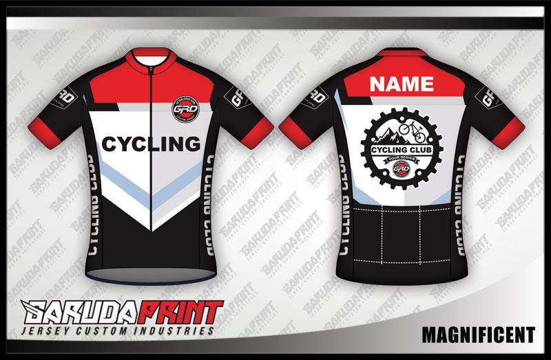 bikin desain jersey sepeda gowes full print