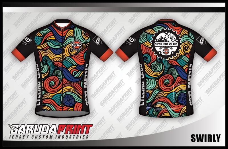 desain baju sepeda batik printing