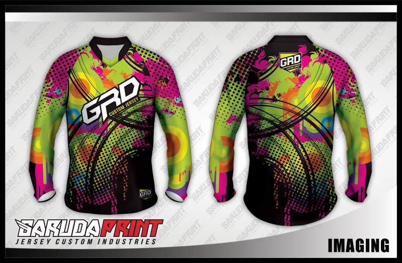 desain baju sepeda downhill custom keren