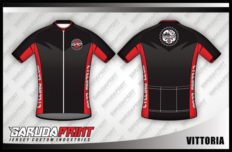 desain jersey kaos sepeda custom