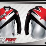 desain jersey sepeda downhill sendiri