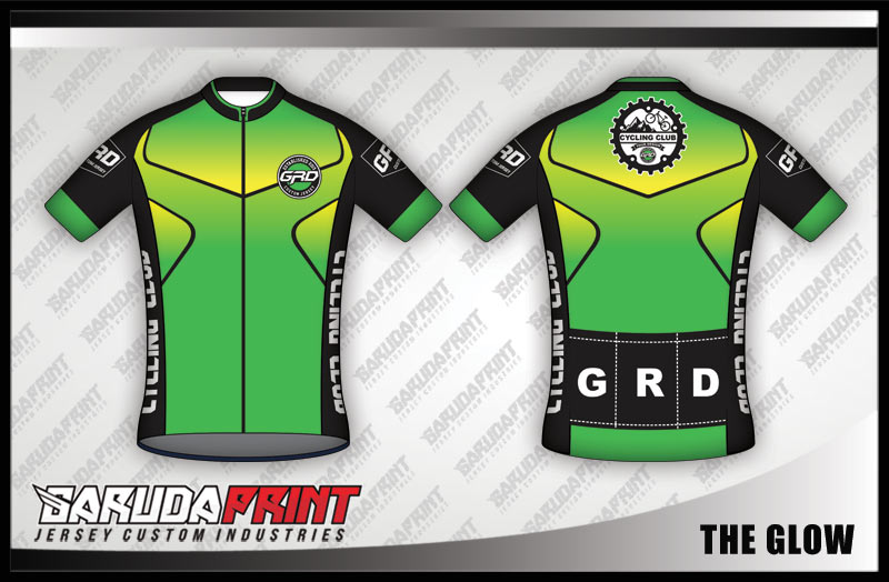 desain kaos jersey sepeda gradasi warna