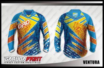 Desain Baju Sepeda Gunung MTB Ventura Yang Keren Dan Mantab