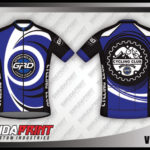 Desain Kaos Sepeda Gowes Vortex Paling Keren biru hitam