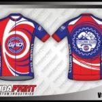 Desain Kaos Sepeda Gowes Vortex Paling Keren merah biru
